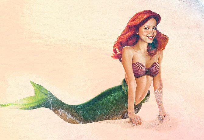 Les princesses Disney réelles : Ariel, la Petite Sirène en vrai (1989)