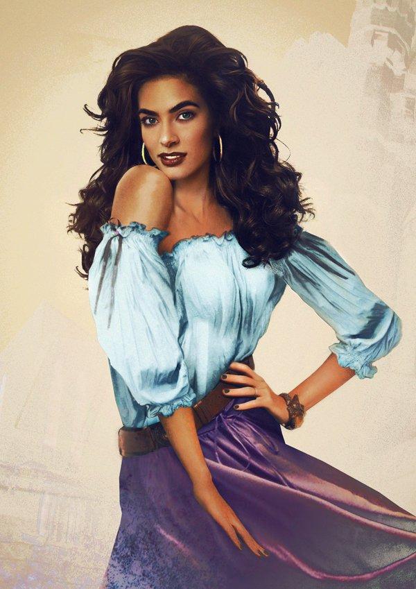 Les princesses Disney réelles : Esmeralda, Le Bossu de Notre Dame (1996)