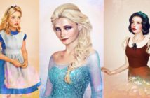 Les princesses disney réelles : les dessins / illustrations de Jirka Väätäinen