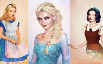 Illustration : à quoi ressembleraient les princesses Disney si elles étaient réelles ?