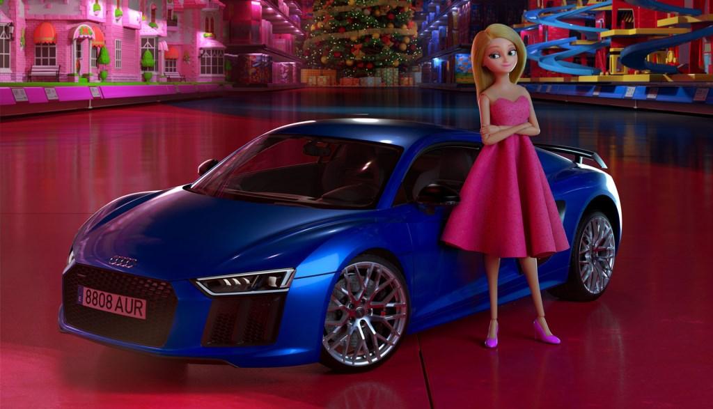 pub audi de Noël sur les clichés sexites des jouets