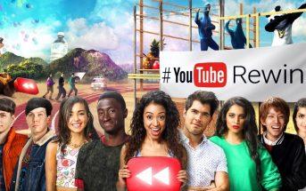 YouTube Rewind : les meilleurs youtubeurs 2016 réunis dans une vidéo
