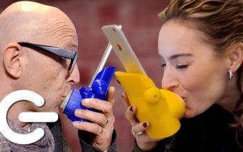 Kissenger : la coque de smartphone qui permet de s'embrasser à distance