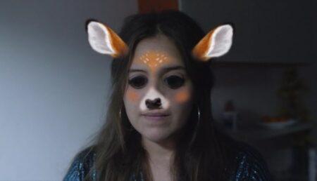 je suis une biche : court-métrage sur snapchat