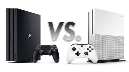 Sonay playstation PS4 Pro vs Microsoft Xbox One S : le duel des consoles next gen 2016