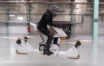 Hoverbike moto drone volante