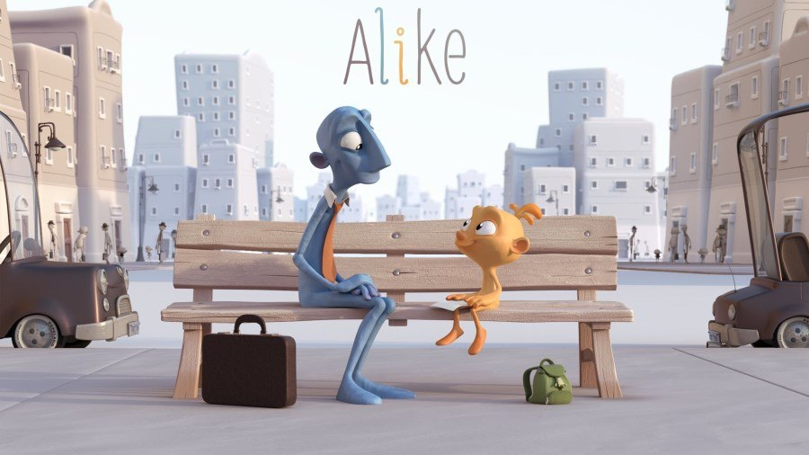alike : court-métrage d'animation