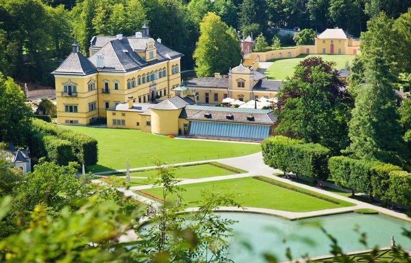 jardin du château d'Hellbrunn