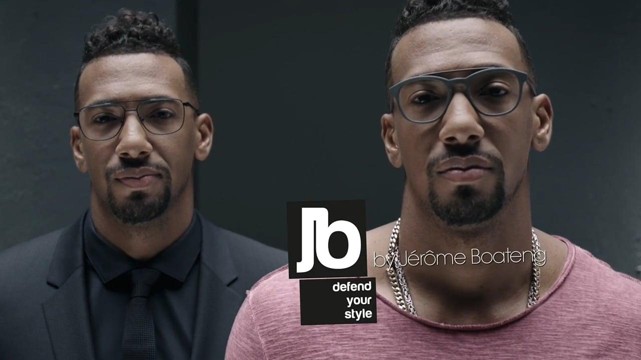 JB by Jerome Boateng : la marque de lunettes