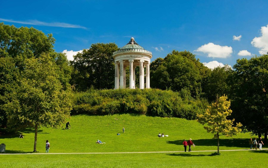 parc anglais de Munich