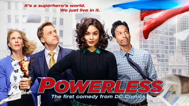 powerless : série TV DC Comics 2017