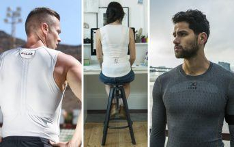 Textile high-tech : 3 t-shirts connectés futuristes réels en 2017