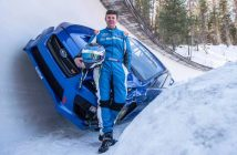 Boxersled! Mark Higgins descend une piste de bobsleigh en Subaru WRX STI