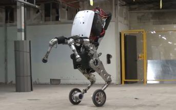 Handle : le robot acrobate hyper agile de Boston Dynamics
