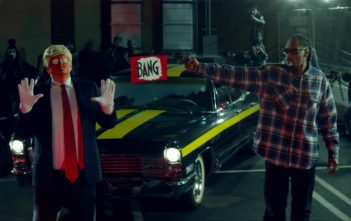 SNOOP DOGG - BADBADNOTGOOD - Donald Trump Clown