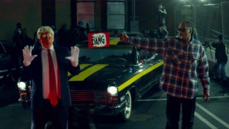 SNOOP DOGG - BADBADNOTGOOD - Donald Trump Clown