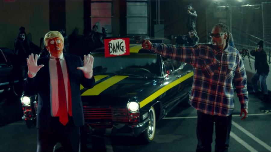 SNOOP DOGG- BADBADNOTGOOD- Donald Trump Clown