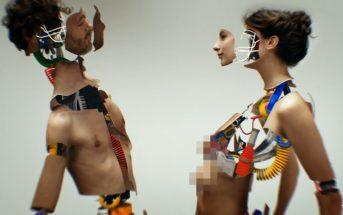 Saint-Michel - You & I : le clip qui mèle amour et robotique humanoïde