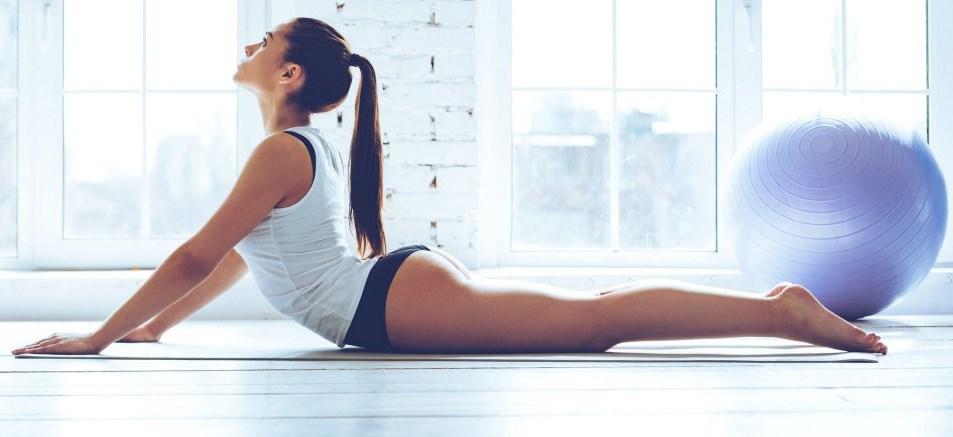 yoga ventre plat