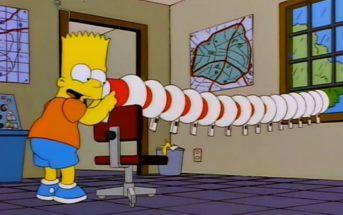 Un scientifique reproduit le super megaphone explosif de Bart Simpson
