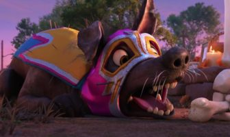 "Pixar Coco presente ""Dante's Lunch - A Short Tail"""