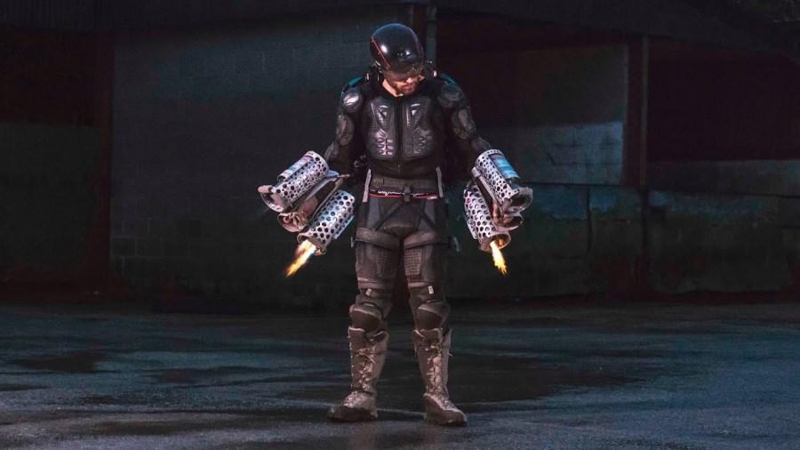 Iron Man en vrai : Richard Browning dans son Daedalus Flight Suit