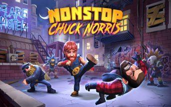 Nonstop Chuck Norris : nouveau jeu mobile délirant et gratuit !