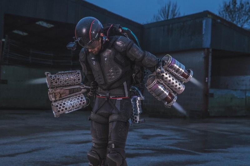 Richard Browning - Daedalus Flight Suit - Iron Man Jetpack 02