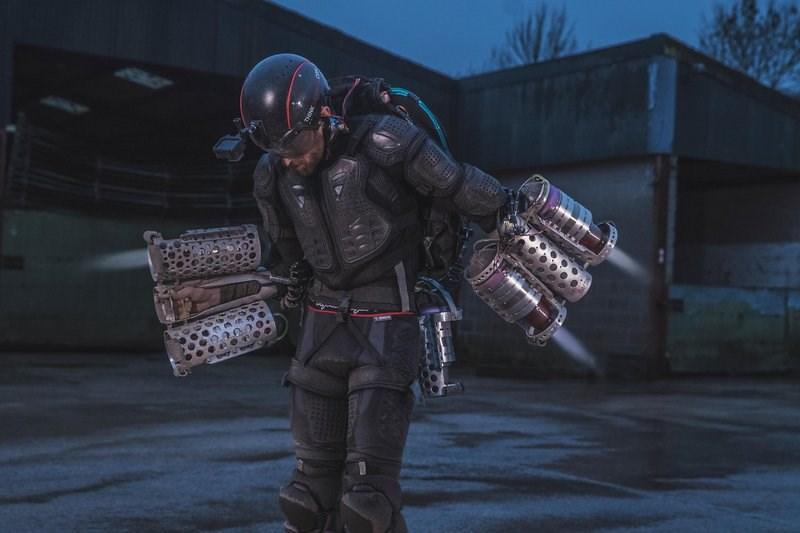 Richard Browning - Daedalus Flight Suit - Iron Man Jetpack 02