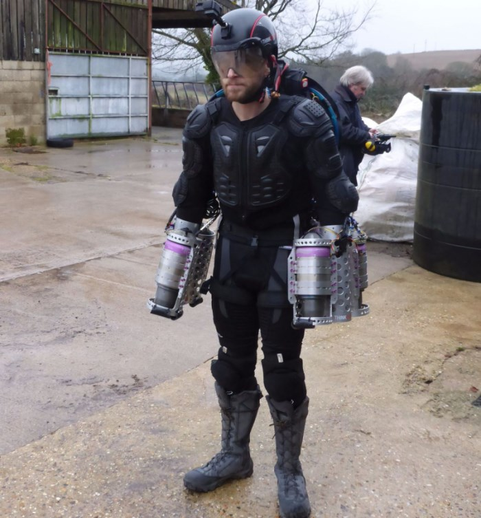 Richard Browning - Daedalus Flight Suit - Iron Man Jetpack