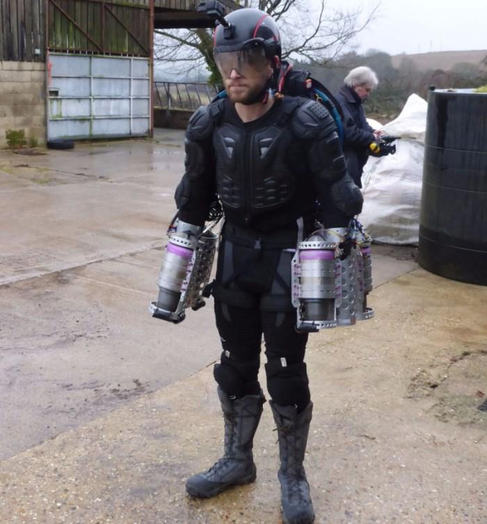 Richard Browning - Daedalus Flight Suit - Iron Man Jetpack