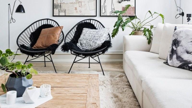 Le mobilier outdoor s'invite dans le salon en 2017