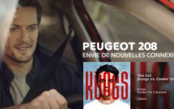 Musique de la pub Peugeot 208 'Connected energy' 2017