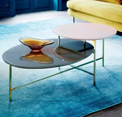La table basse sculpturale : une tendance salon 2017