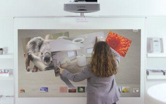 Les avantages du visualiseur couplé avec un vidéoprojecteur interactif