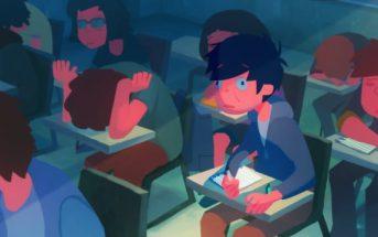 Afternoon Class : il lutte contre le sommeil dans un cours ennuyeux