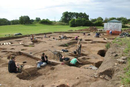 chantier de fouilles 1