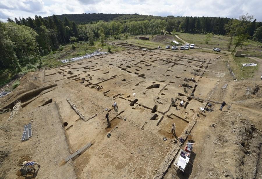 chantier de fouilles 3