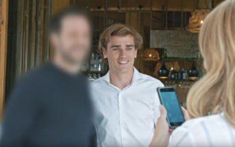 """Antoine Griezmann a vécu """"une histoire de flou"""" pour Huawei"""