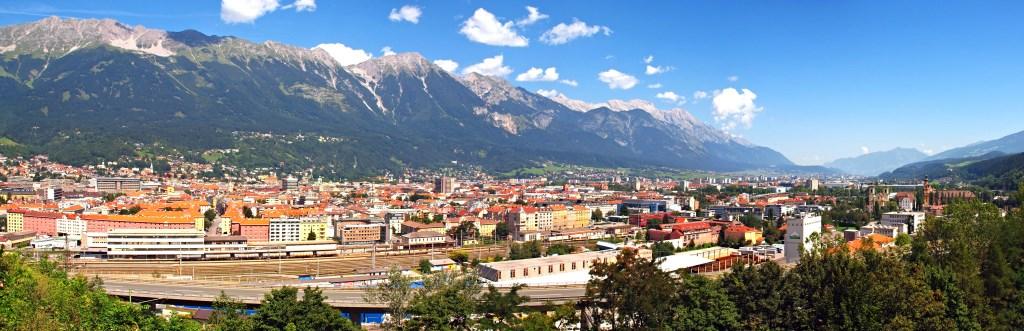 Innsbruck Ville panorama
