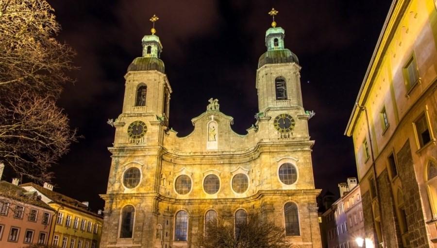 La cathédrale Saint-Jacques de Innsbruck