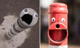 Eyebombing - Googly Eyes : des yeux dans le mobilier urbain