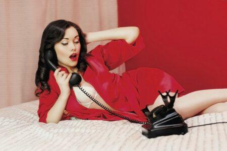 Le téléphone rose érotique pour avoir un orgasme à distance