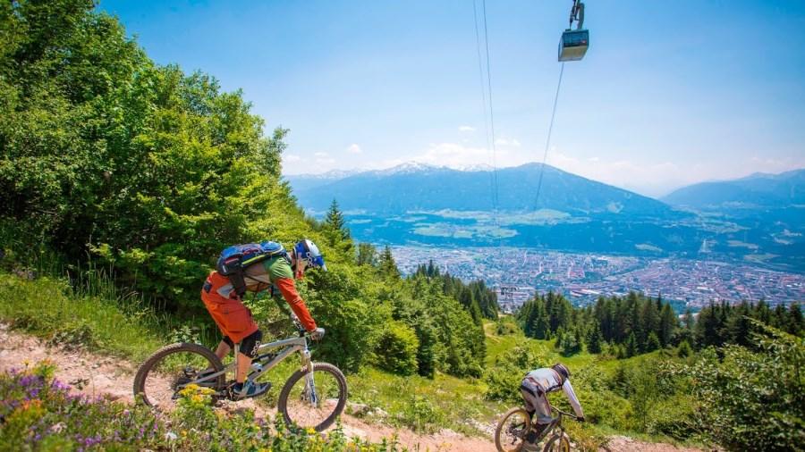 Le VTT à Innsbruck