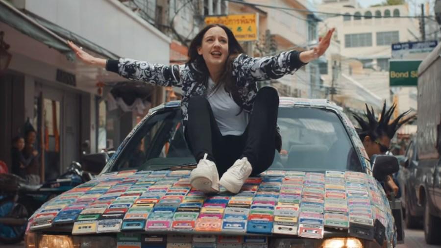 Jain dans son clip'Dynabeat' tourné à Bangkok en Thaïlande