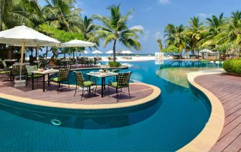 vacances dans un hôtel de luxe