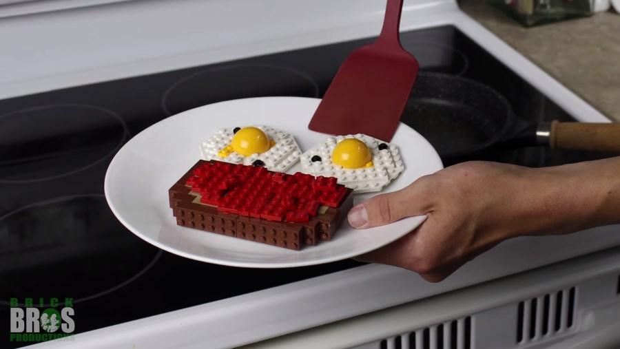 petit déjeuner en lego