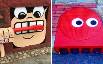 Street art : il détourne le mobilier urbain de New York et c'est génial !
