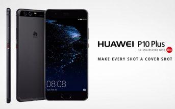 Code promo : le smartphone Huawei P10 Plus à moins 500€ !