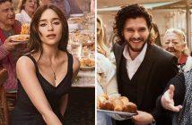 Pub Dolce & Gabbana The One avec Emilia ClarkeKit Harington les acteurs de Game Of Thrones